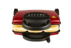 Arnica Ayvalık 4000 Izgaralı Tost Makinesi Kırmızı - Thumbnail