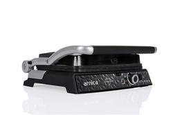 Arnica Diamond Granit Izgaralı Tost Makinesi Siyah - Thumbnail