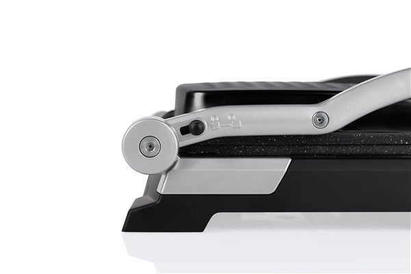 Arnica Diamond Granit Izgaralı Tost Makinesi Siyah