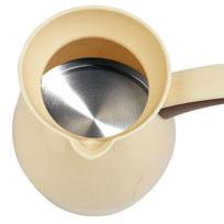 Arnica Köpüklü Türk Kahvesi Makinesi Krem - Thumbnail