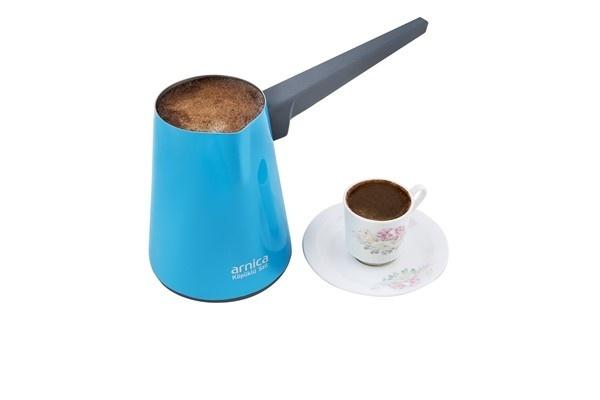 Arnica Köpüklü Stil Türk Kahvesi Makinesi Turkuaz