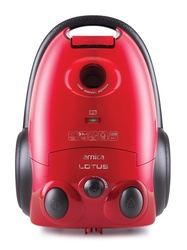 Arnica Lotus ET14111 Toz Torbalı Elektrikli Süpürge Kırmızı - Thumbnail