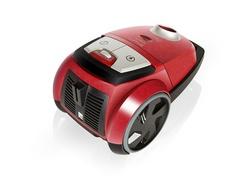 Arnica Lotus Turbo Toz Torbalı Elektrikli Süpürge Kırmızı - Thumbnail