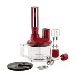 Arnica Master Cook El Blender Seti Kırmızı - Thumbnail