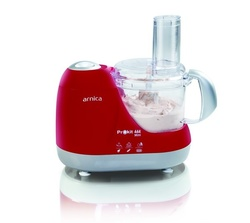 Arnica Prokit 444 Mini Mutfak Robotu Kırmızı - Thumbnail