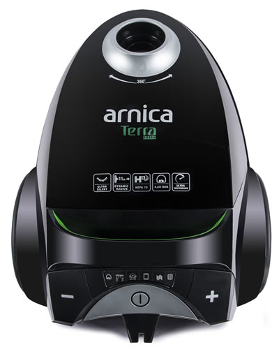 Arnica Terra Green Toz Torbalı Elektrikli Süpürge
