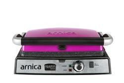 Arnica - Arnica Tostit Maxi Granit Izgaralı Tost Makinesi Fuşya (1)