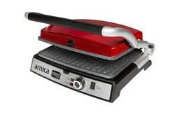 Arnica Tostit Maxi Granit Izgaralı Tost Makinesi Kırmızı - Thumbnail