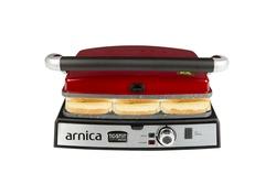 Arnica - Arnica Tostit Maxi Granit Izgaralı Tost Makinesi Kırmızı (1)